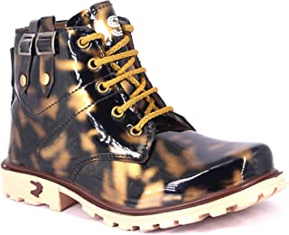 PARIS STYLE Boys Casual Synthetic Leather Boot Shoes