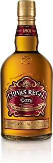 Chivas Regal Extra Blended Scotch Whisky mit Geschenkverpackung – Edle Komposition aus ausgewählten Malt & Grain Whiskys – Whisky mit goldgelber Farbe & fruchtig-süßem Geschmack – 1 x 0,7 L