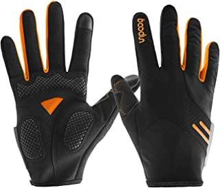 Aooaz High Breathable Long Finger Full Finger Touch Screen Gloves Bicycle Riding Gloves