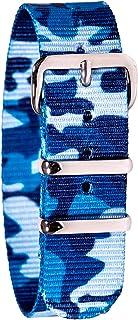 EasyRead Time Teacher WS-BC Children's Watch Strap - Blue Camo