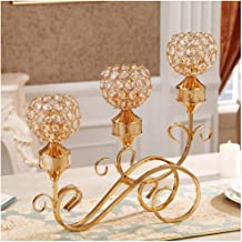 Candle Holder Candle Holder European Style Decoration Metal Candle Holder Decoration American Luxury Home Romantic Candlel...