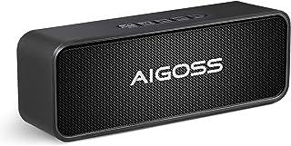 Aigoss Altoparlante Bluetooth Portatile Cassa Bluetooth 5,0 Senza Fili del con Doppio Driver Bassi Potenti Stereo Hi-Fi Ch...