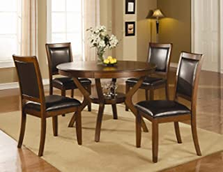 102171SET5 Nelms 5 PC Dining Set (Table and 4 Chairs) by Coaster Co.