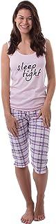 Pijama de dos piezas de algodón Ökotex Sleep Tight para mujer