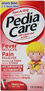 PediaCare Fever Reducer/Pain Reliever Drops Cherry - 2 oz, Pack of 5