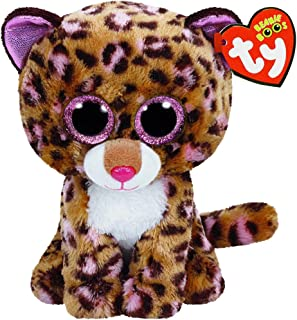 New TY Beanie Boos Cute Patches the Leopard Plush Toys 6'' 15cm Ty Plush Animals Big Eyes Eyed Stuffed Animal Soft Toys for Kids Gifts