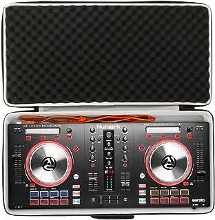 Khanka Duro Viaje Estuche Bolso Funda para Numark Mixtrack Pro 3 Controlador DJ de 2 Decks para Serato DJ(estuche solo)