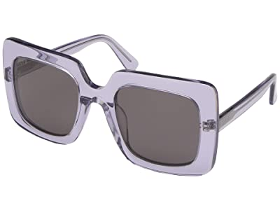 DIFF Eyewear Sasha (Ultra Violet/Grey) Fashion Sunglasses