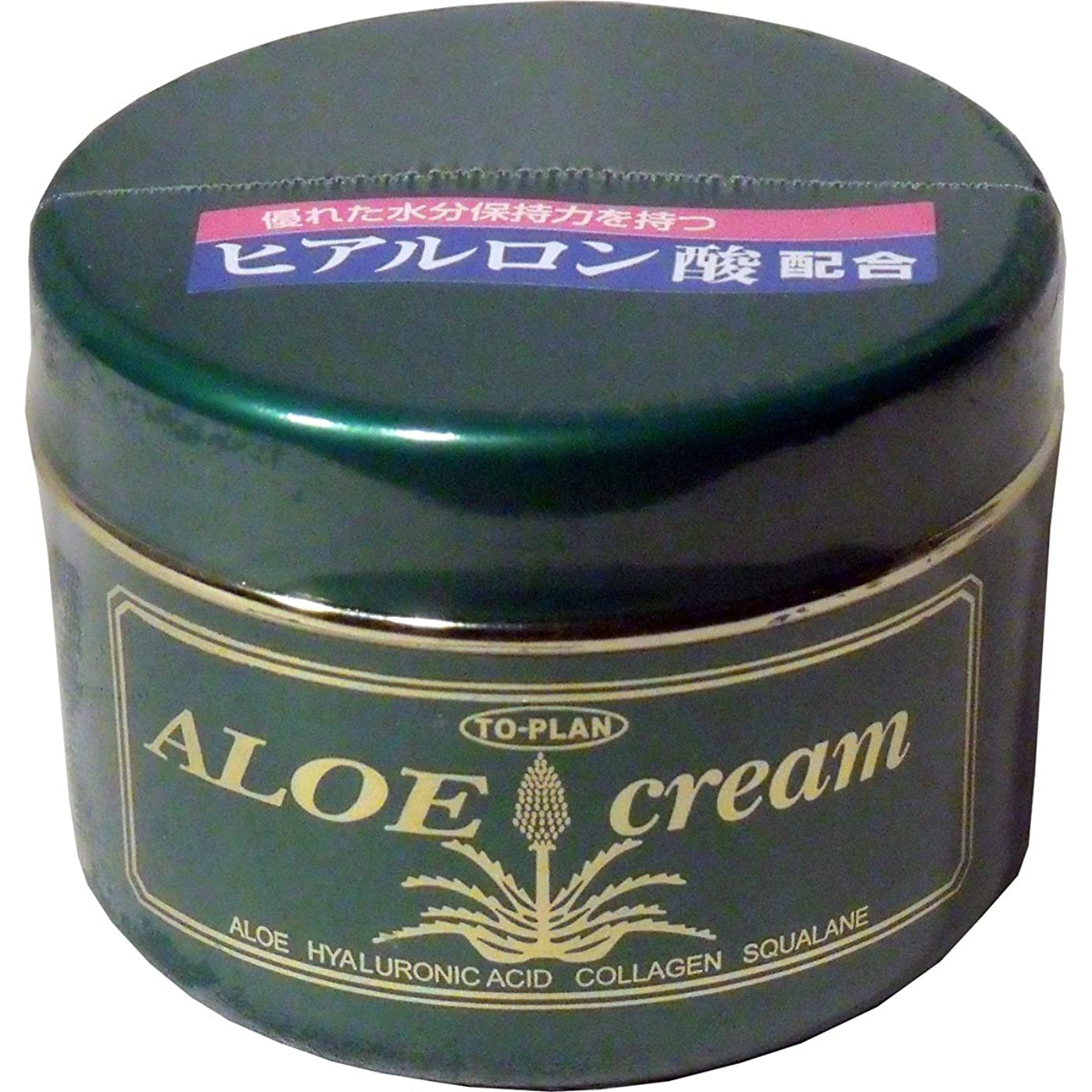 取り出す検体腹部トプラン ハーブフレッシュクリーム(アロエクリーム) ヒアルロン酸 170g ×5個セット