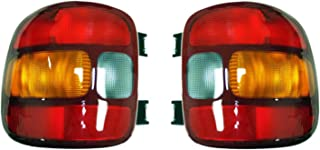 NEW TAIL LIGHT PAIR FITS GMC SIERRA 1500 STEPSIDE BED 1999-03 15224277 19169012 15224276 19169013 GM2801136 GM2800136