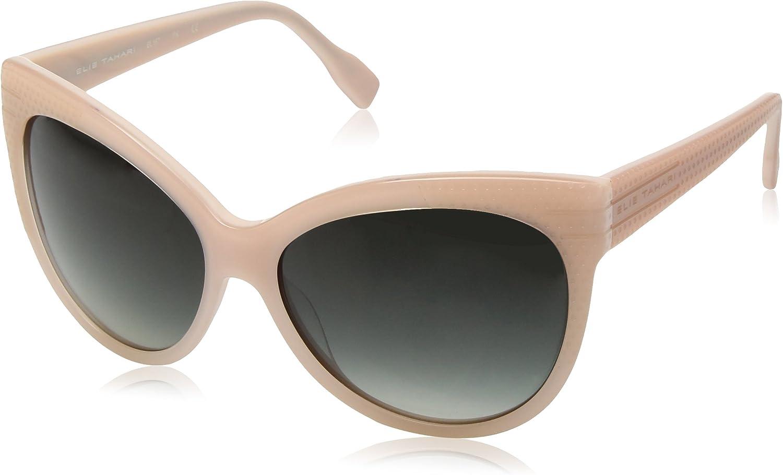 Elie Tahari Women's EL 167 PK Cateye Sunglasses