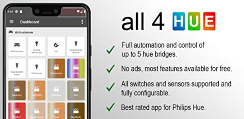 『all 4 hue for Philips Hue』のトップ画像
