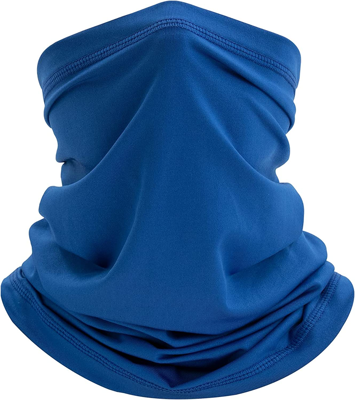 Summer Cooling Neck Gaiter Neck Wraps Face Mask UV Protection Breathable Balaclava Bandanas for Men Women
