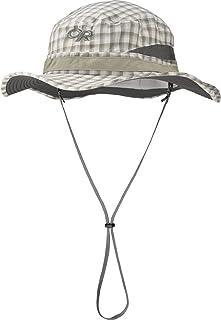 Outdoor Research Sentinel Brim Hat, Walnut Plaid, Small