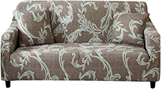 FORCHEER Pattern Couch Covers Stretch Sofa Slipcover Loveseat Printed Spandex Fabric for Living Room Furniture Pets Protector 1PC (Loveseat, Pattern #8)