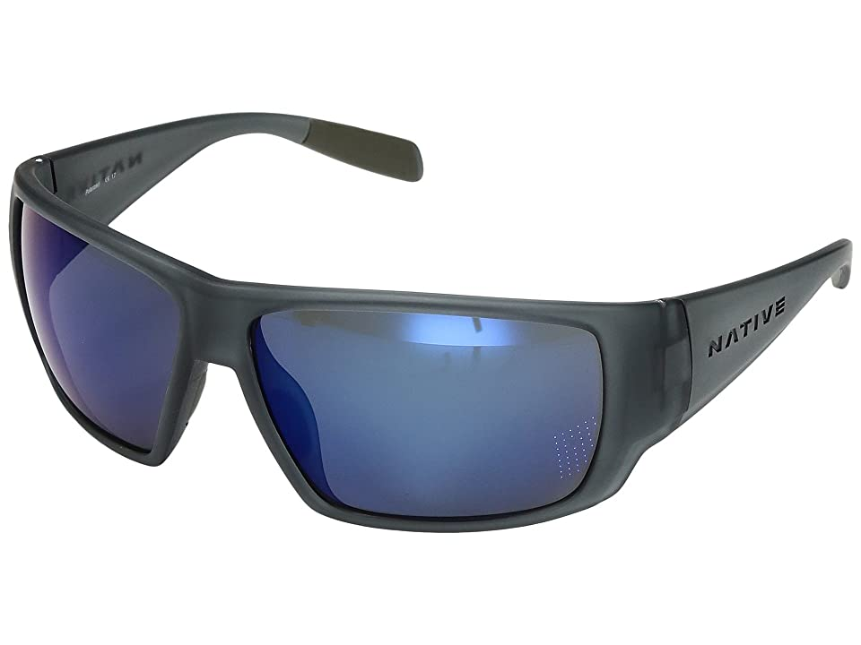 Native Eyewear Sightcaster (Matte Smoke Crystal) Sport Sunglasses