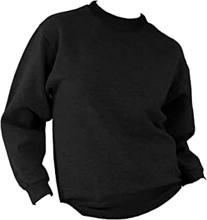 Ultimate Clothing Collection UCC 50/50 Mens Heavyweight Plain Set-in Sweatshirt Top