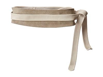 ADA Collection Obi Classic Wrap Belt (Snow Combo) Women
