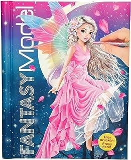 Top Model FANTASYModel, Libro de Colorear con luz y música