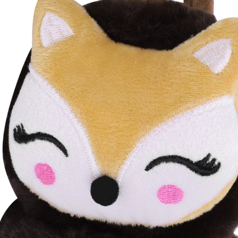ideale come regalo di compleanno per bambini Fascia antivento per bambini con volpe Qchomee regolabile