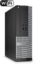 Dell Optiplex 3040-SFF, Core i5-6500 3.2GHz, 8GB RAM, 256GB Solid State Drive, DVDRW, Windows 10 Pro 64bit (Renewed)