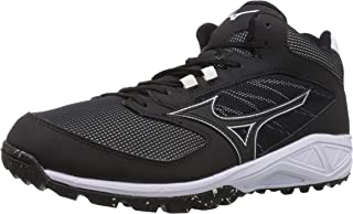 Mizuno Men's Dominant All Surface Mid Turf Athletic Shoe