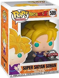 Pop Animation: Dragon Ball Z - Super Saiyan Gohan Collectible Figure, Multicolor