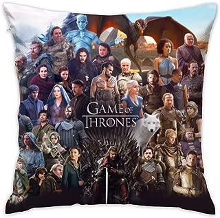 Game Of Thrones Cast Decorative Cushion Pillowcase 18