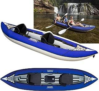 Aquaglide Chinook 120 XL Tandem Inflatable Kayak.