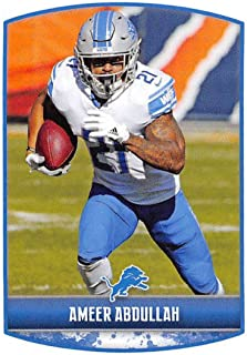 2018 Panini NFL Stickers Collection  297 Ameer Abdullah Detroit Lions  Official Football Sticker c1f7ffbcb