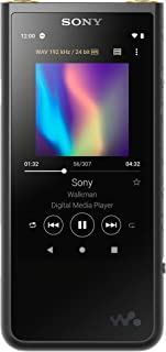 "Sony Nw-ZX507 64GB Walkman Hi-Res Digital Music Player with 3.6"" Touch Screen, Aluminium Body, Android 9.0, S-Master Hx, D..."
