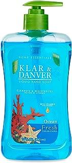 Klar & Danver Liquid Hand Soap OCEAN FRESH 15 oz