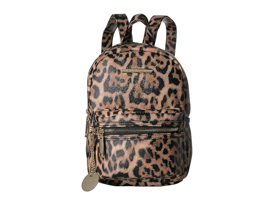 e26ddef9b7 Steve Madden Bbailey PVC Backpack (Leopard) Backpack Bags