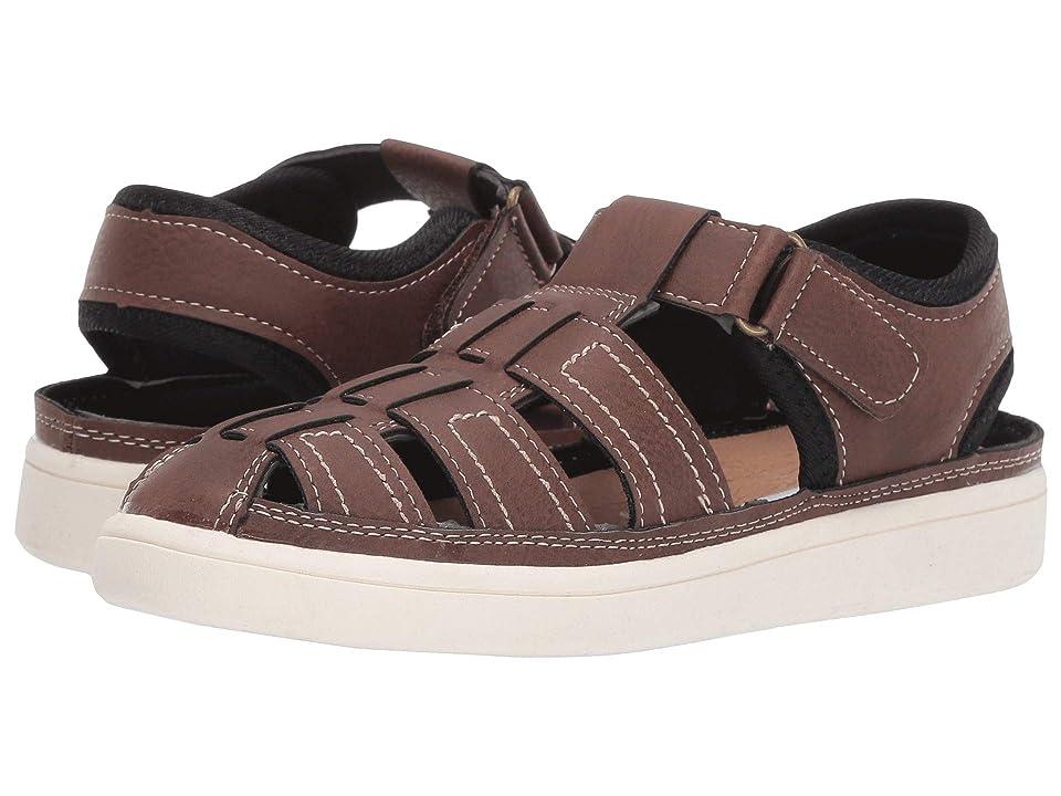 Steve Madden Kids Tarzan (Toddler/Little Kid/Big Kid) (Brown) Boys Shoes