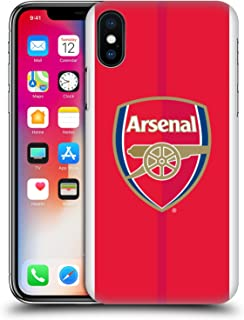 Official Arsenal FC Home 2016/17 Crest Kit Hard Back Case Compatible for iPhone X/iPhone Xs