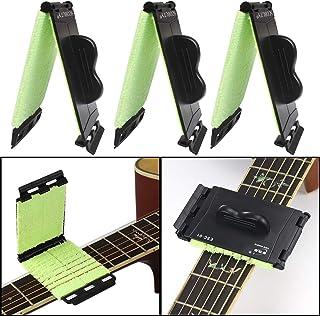 Set Gitarren Bass Chrom Sicherheitsgurt Schlösser Ukulele Mandoline Schnalle