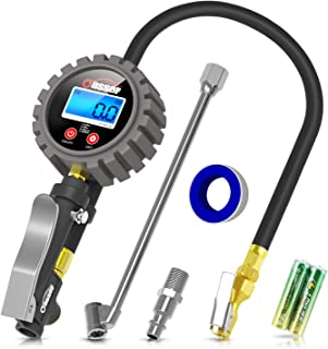 Oasser Manómetro Presión Neumáticos Digital 0-18bar Manó