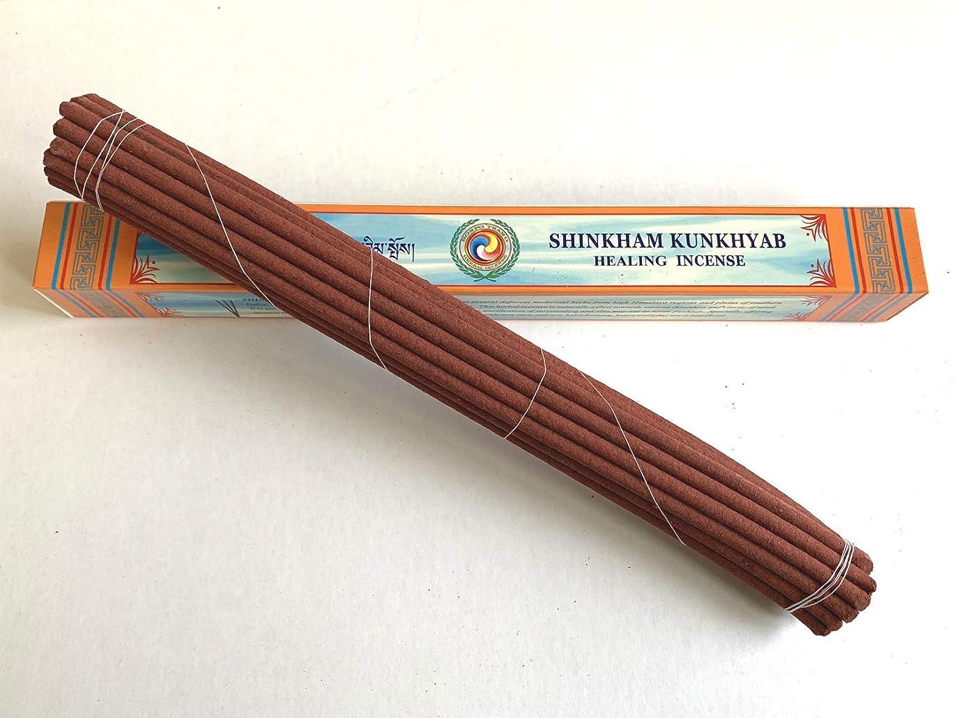 中世の裸配当Bonpo Tsang Agarbathi Factory/シンカムクンキャブ ロング(天堂藏香) SHINKHAM KUNKHYAB(LONG) 約25本入り