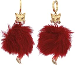 So Foxy Fox Statement Earrings
