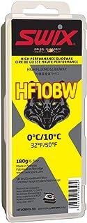 Swix HF10BWX-18 Cera Nova X High Fluoro Wax with BW Additive, Yellow, 180gm