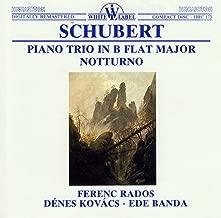 Schubert: Piano Trio in B Flat Major - Notturno