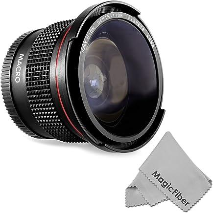 58MM 0.35X Altura Photo Professional Super Fisheye Wide Angle Lens w/ Macro Close Up for CANON REBEL (T5i T4i...