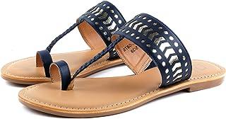 Carlton London Girl's Flat Fashion Sandals
