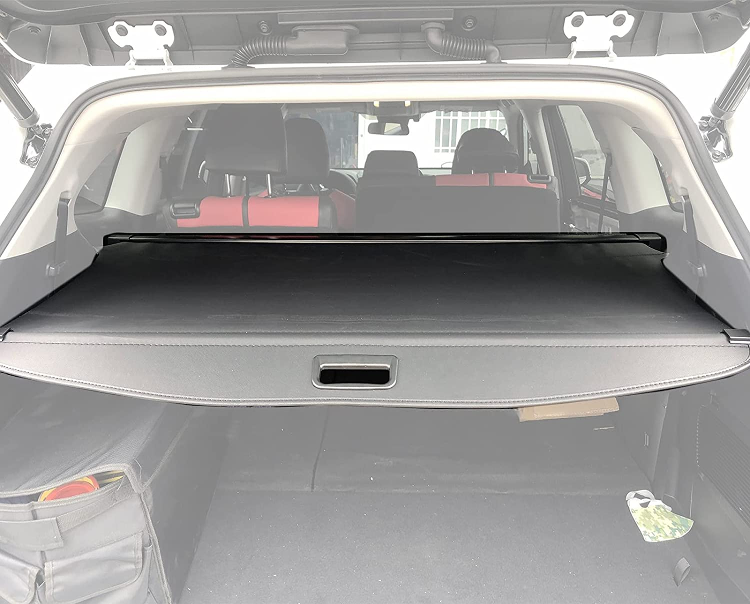 kaungka Retractable Cargo Japan's largest assortment Cover Trunk Shade All items free shipping Black Shielding Comp