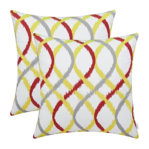 Modern Yellow Pillows Amazoncom