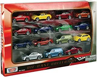 Motormax Motormax 15 Pc 3 inch Die Cast Vehicle Set,