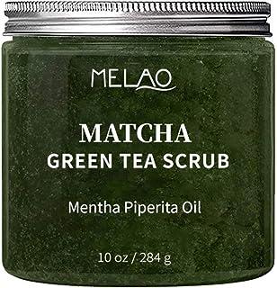Thé Vert Matcha Gommage Crème Pour Le Corps Et Le Visage Gommage Lissant La Peau Anti-cellulite Exfoliant Deep Cleansing H...