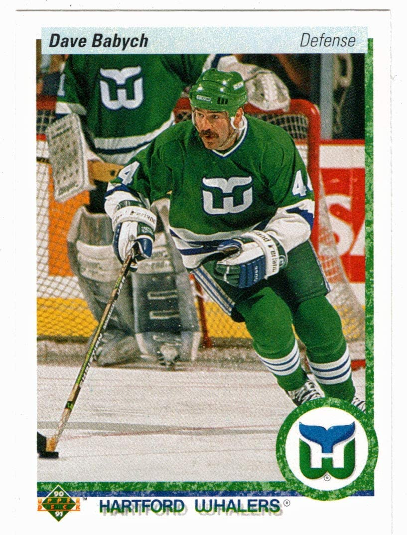 Dave Babych Hockey Card 1990-91 Upper # MT NM Max 49% OFF Purchase Deck 194