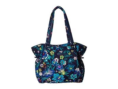 Vera Bradley Iconic Glenna Satchel (Moonlight Garden) Bags