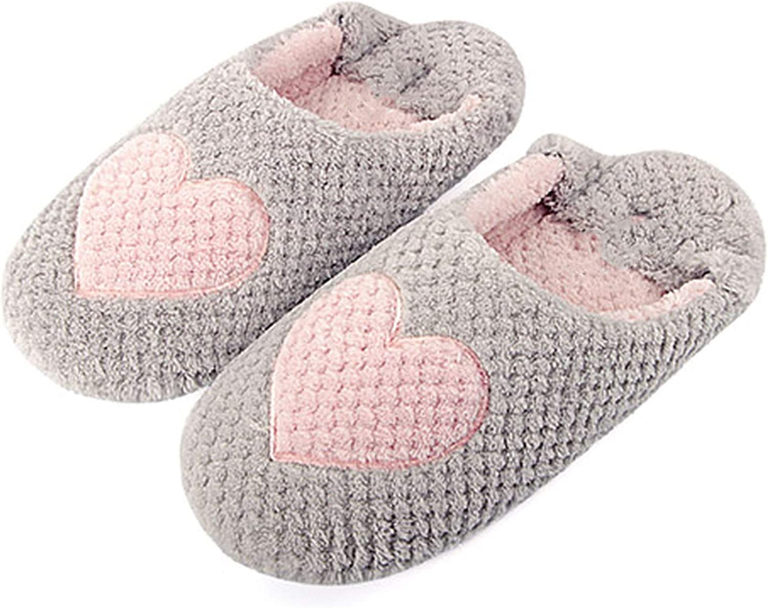 PilotageAuto Winter Home Slippers Woman Cotton Soft Plush Indoor Floor shoes Fur Slippers Warm Slippers